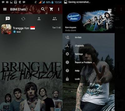 BBM Mod Bring Me The Horizon v2.13.1.14 Apk