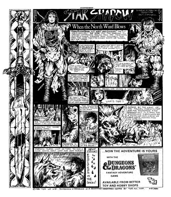 Star Shadow Episode 1 (2000AD, Prog 387) - When The North Wind Blows