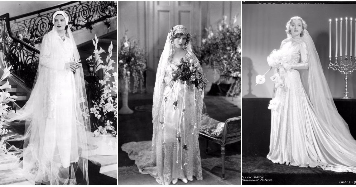 1930s Wedding Gowns: 27 Glamorous Photos That Show Hollywood Beauties In