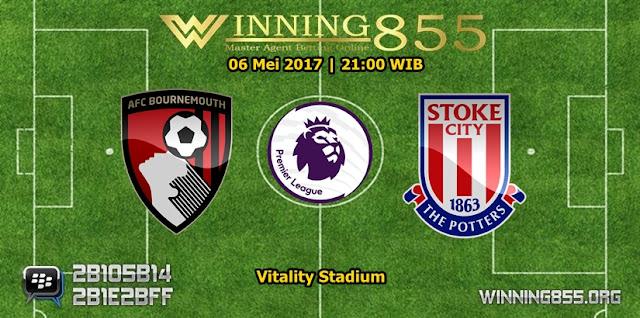 Prediksi Skor Bournemouth vs Stoke City 06 Mei 2017