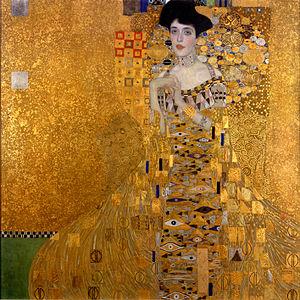 """Portrait of Adele Block-Bauer I"", Gustav Klimt"