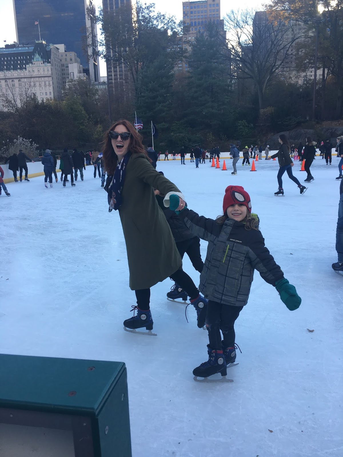 family friendly NYC, kid-friendly things to do in NYC in the winter, ice skating NYC, new York aquarium, Coney Island with kids, Central Park zoo, Brookfield Place for toddlers, what to do in NYC with your family, winter time activities for NYC, wollman rink NYC skating with kids