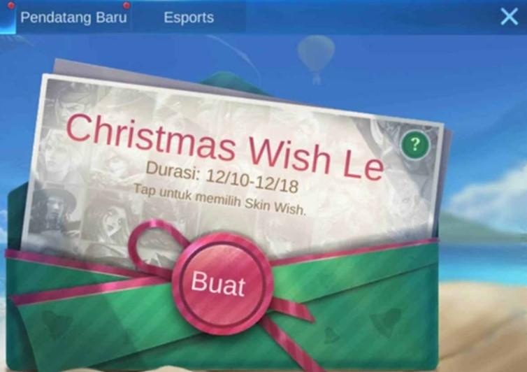 Christmas Wish Mobile Legend