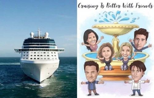 Agência de viagens anuncia cruzeiro temático de 'Friends' em 2022