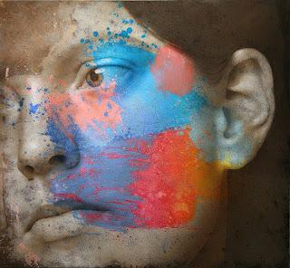 pinturas-realismo-abstracto-rostros-de-mujeres rostros-mujeres-pintura-abstracta-moderno