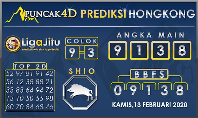 PREDIKSI TOGEL HONGKONG PUNCAK4D 13 FEBRUARI 2020