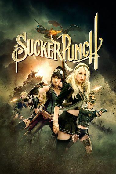 Sucker Punch 2011 480p 300MB BRRip Dual Audio [Hindi - English]