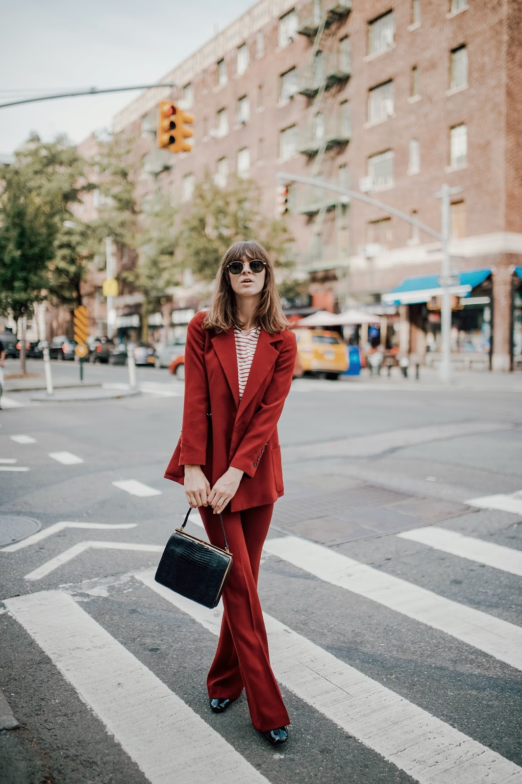 Getting Out of a Rut + the Power of a Pant Suit