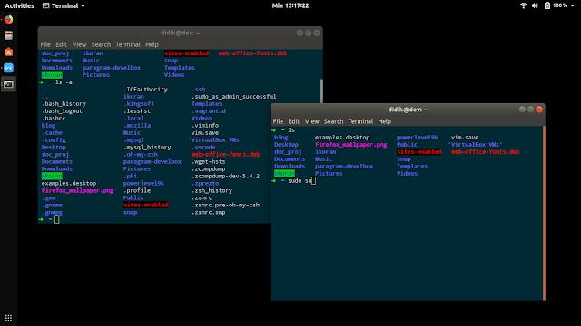 Kumpulan perintah dasar linux ubuntu
