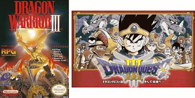 El Pequeño Rincón de los Grandes RPG - Dragon Warrior III - Caja NTSC USA + Caja NTSC Japón