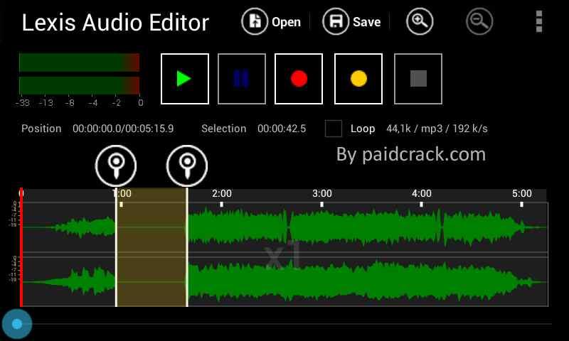 Lexis Audio Editor Pro Mod Apk 1.1.0 [Latest Version]