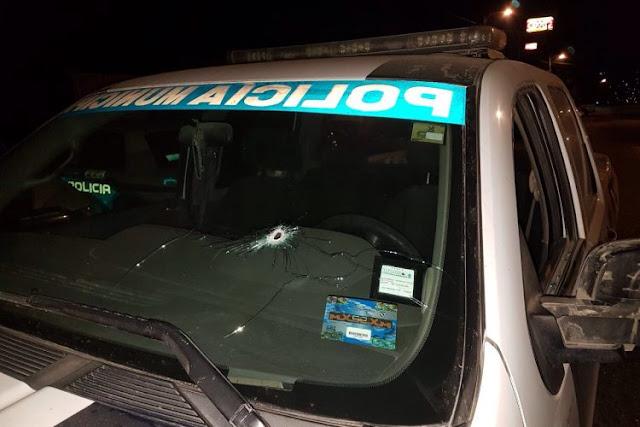 Dos ataques armados con R-15 contra policías de Tijuana en las últimas horas, un agente resulta herido