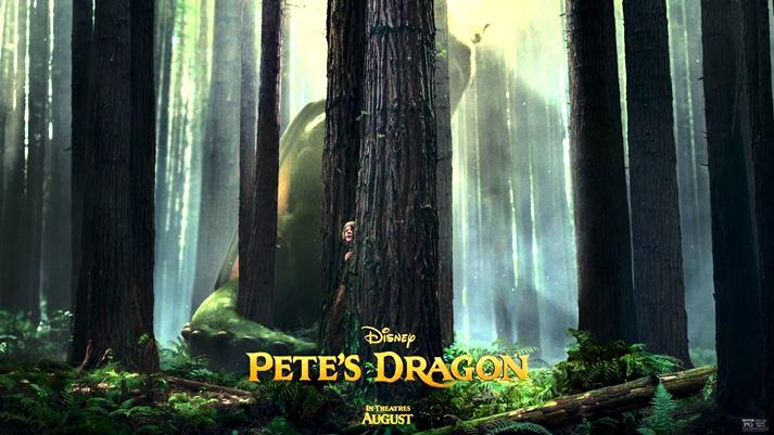 Póster: Peter y el dragón