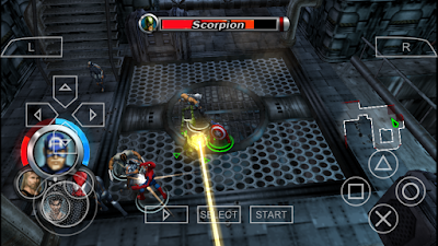 تحميل لعبة Marvel: Ultimate Alliance لأجهزة psp ومحاكي ppsspp