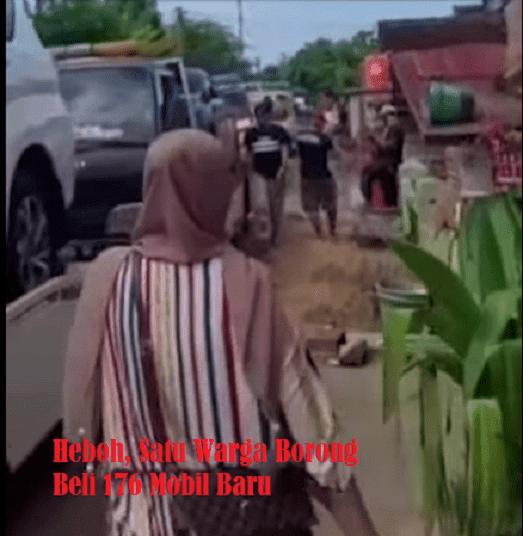 Heboh, Satu Warga Borong Beli 176 Mobil
