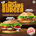 Rendang Burger Menu Terbaru Dari Burger King