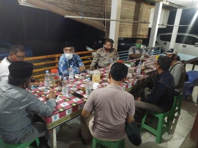 Polsek Gelar Dialog Dengan Wali Nagari,  Untuk Tingkatkan Keamanan dan Ketertiban Di Wilkum Polsek Kampung Dalam