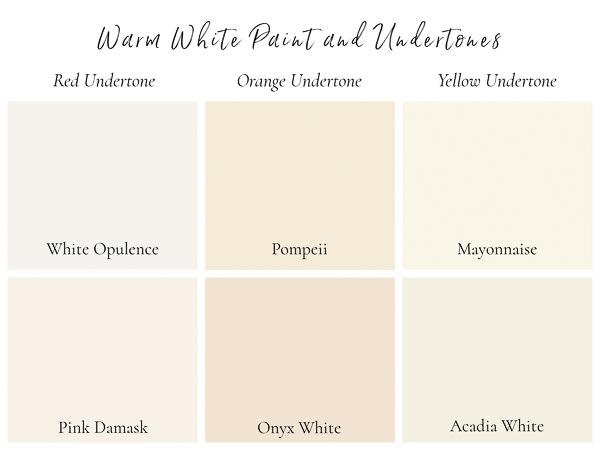 benjamin moore whites with warm undertones