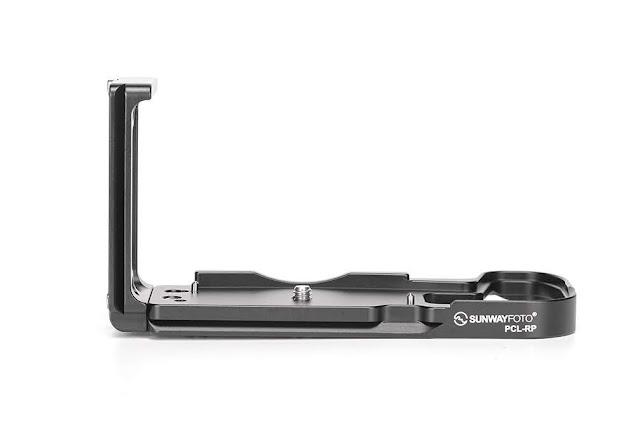 Sunwayfoto PCL-RP custom L Bracket rear view