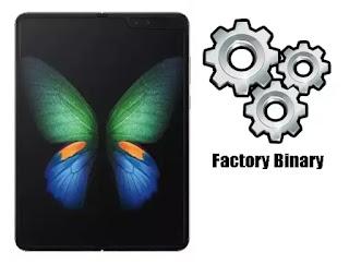 Samsung Galaxy Fold SM-F900F Combination Firmware