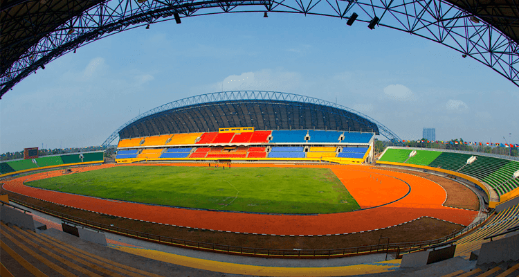 desain stadion jakabaring