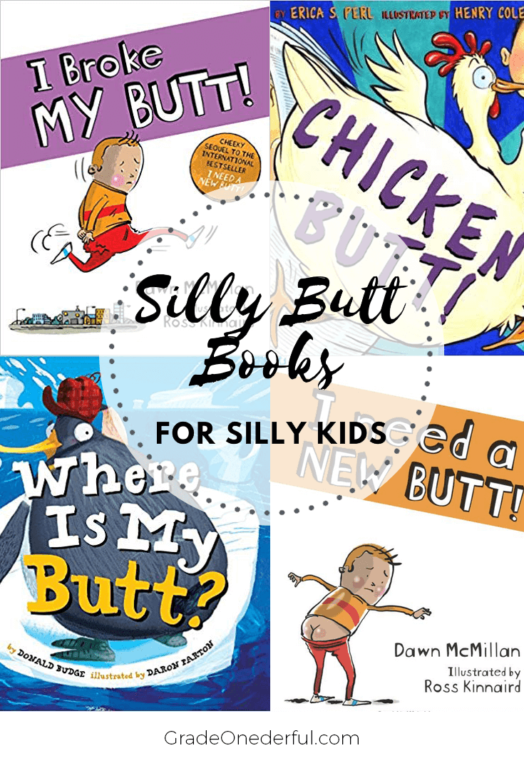 Silly Butt Books for Silly Kids. Lots of books your kids are sure love!