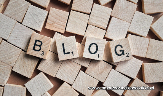 Crear un blog para mi tienda