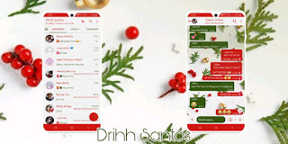 Red Grapes Theme For YOWhatsApp & Fouad WhatsApp By Driih Santos