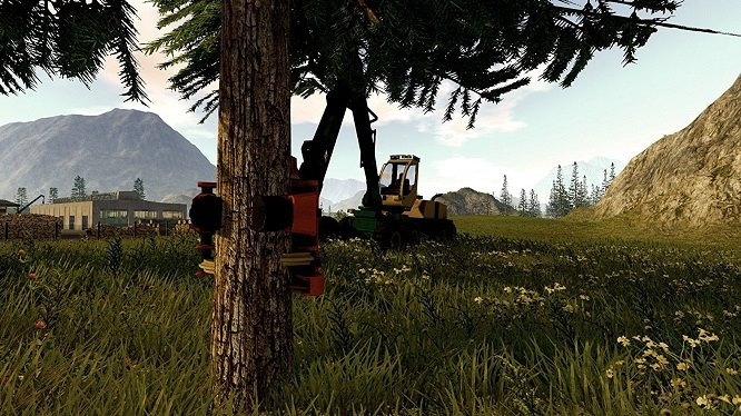 forestry 2017 simulation pc gameplay3