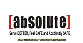 Lowongan Kerja PT Absolute Services Sukabumi Terbaru