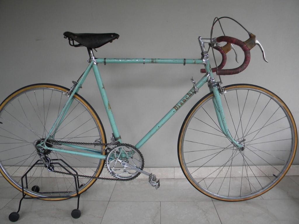 Paramanubrio Bianchi Corsa Campione Del Mondo Anni 50