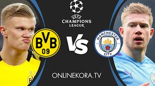 مشاهدة مباراة مانشستر سيتي وبوروسيا دورتموند    القادمة بث مباشر اليوم 14-04-2021 في دوري أبطال أوروبا
