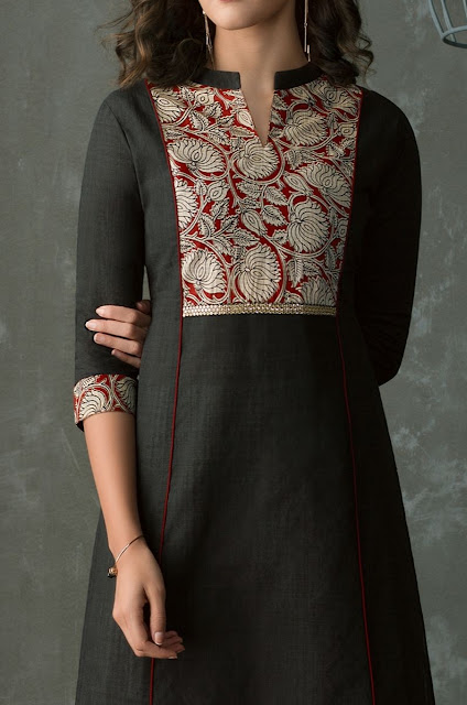 44 Kurta neck designs- kurta patterns