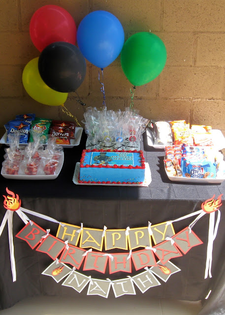 Avatar: The Last Airbender Birthday Party Theme