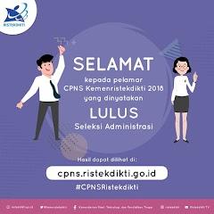 Download Hasil Seleksi Administrasi CPNS KEMENRISTEK DIKTI Tahun 2018
