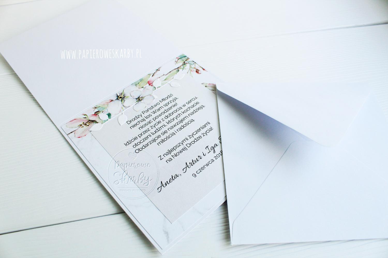 scrapbooking cardmaking rękodzieło kartka karteczka ślub ślubna gratulacyjna okolicznościowa dla młodej pary prezent card wedding pastelowa róż mięta szarość rajska jabłoń