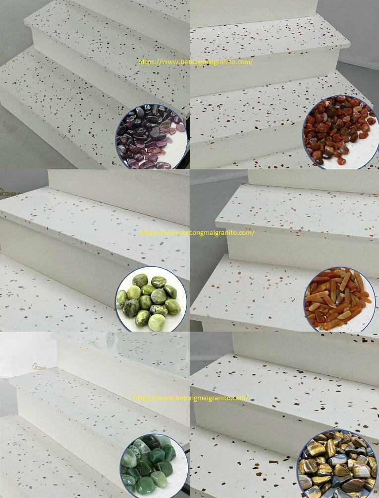 Thi công đá Granito cầu thang những ưu điểm bạn nên biết