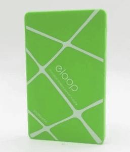 รีวิวขาย Power Bank แบตสำรอง Eloop สีเขียว 1