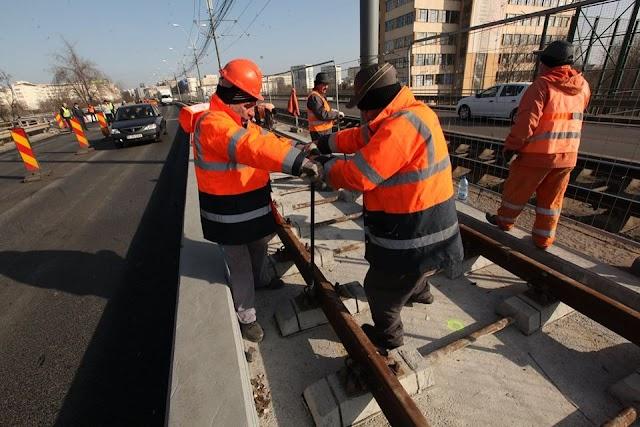 S-au terminat lucrările pe Podul Grant. Vezi de când circulă normal tramvaiul 41!