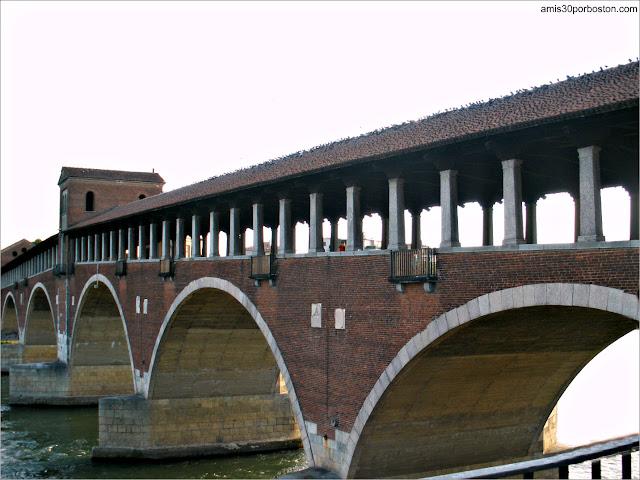 Ponte Vecchio en Pavía, Italia (2009)