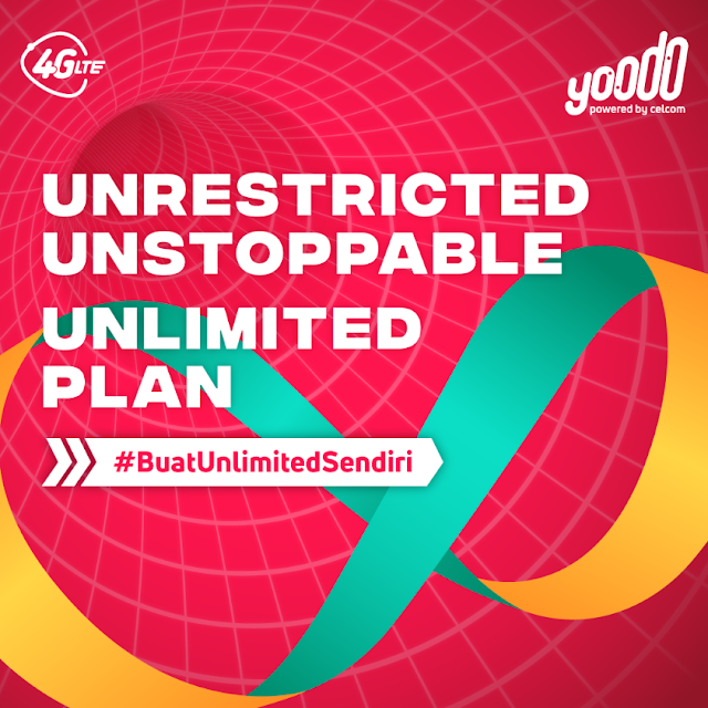 Malaysia's First Truly Customisable and  100% Digital Mobile Service #youdoitbetter