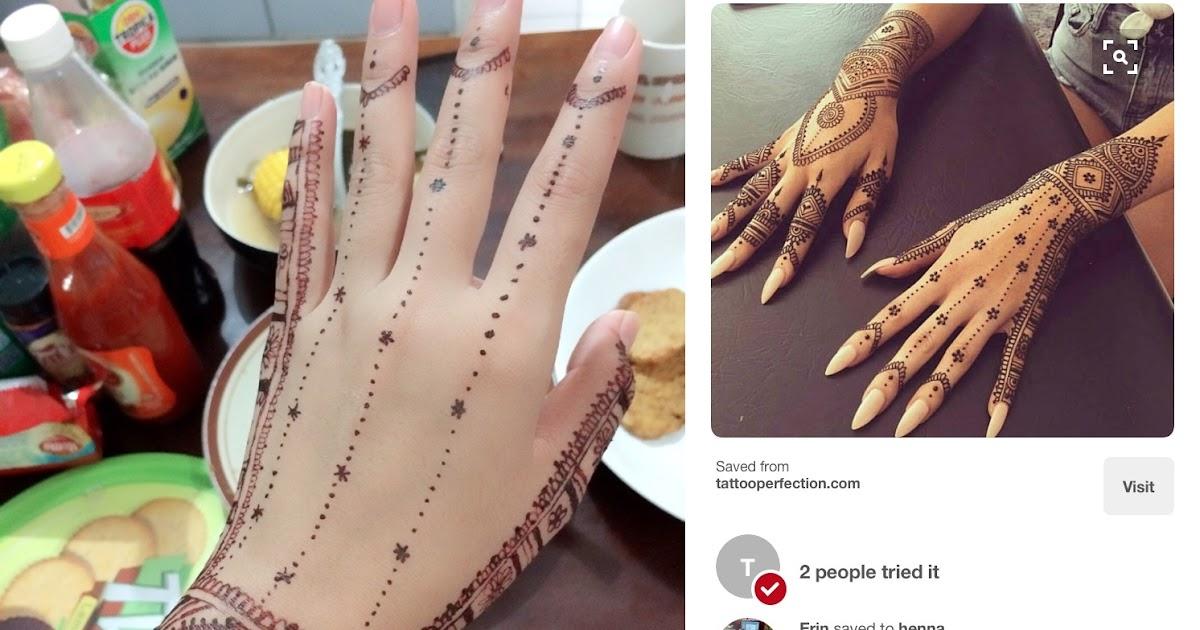 Tips Mudah Membuat Henna Di Rumah Tanpa Harus Ke Salon Kecantikan Ratutips