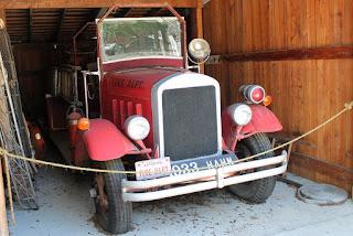 Antiguo camión de bomberos de Astor