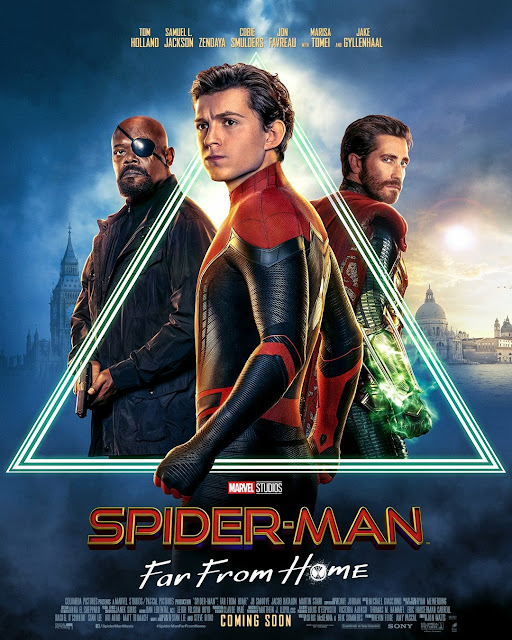 Poster Filem Spider-Man: Far From Home