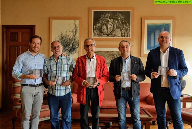 Tajadre visita el Cabildo de La Palma con motivo del lanzamiento de su sexto disco