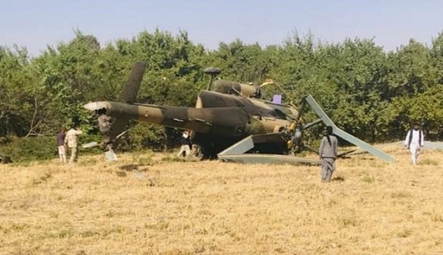 Accident in Afghanistan - Special forces Mi-17 devastated due to crash landing, 9 people including helicopter pilots killed