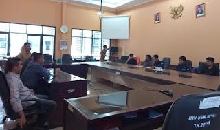 DPC HIPPMAS Bulupoddo Datangi Kantor DPRD Sinjai,Pertanyakan Lampu Jalan