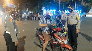 Tekan Kriminalitas Jelang Pilkada Serentak, Polres Pelabuhan Makassar Gelar Razia