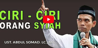 Ciri - Ciri Orang Syiah - Ustadz Abdul Somad, Lc . Ma [Video]