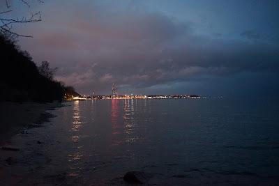 Nabrzeże portowe od strony Orłowa